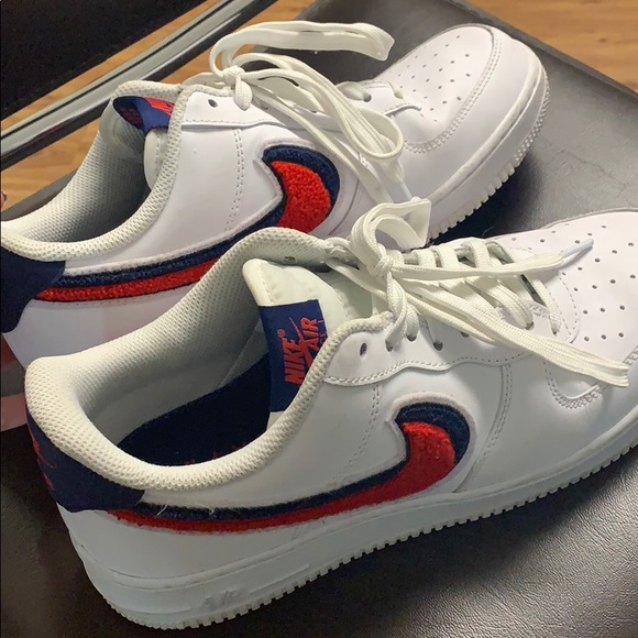 Air Force Lv8 Gs Chenille Swoosh